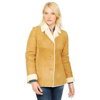 Lana Rafinatta Women's Rubia Shearling Jacket (5 options available)