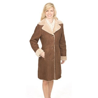 Lana Rafinatta Women's Leona Shearling Coat (More options available)