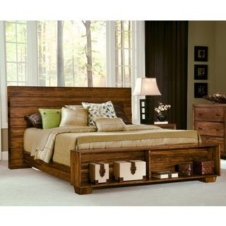 Angelo:HOME Chelsea Park Solid Wood Platform Bed