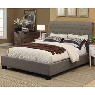 Royal Tufted Platform Bed