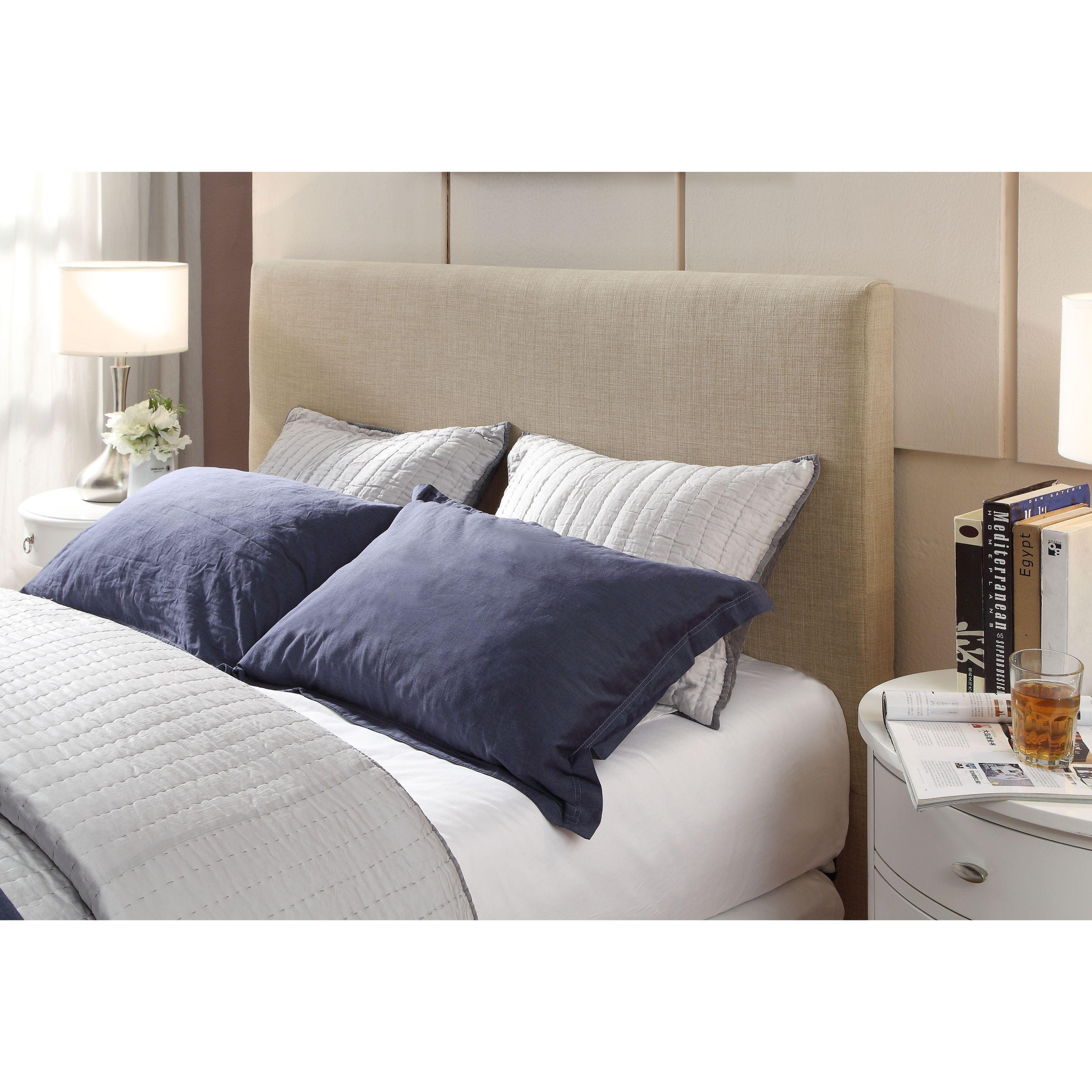 Modus Furniture Saint Pierre Linen Headboard (California ...
