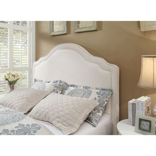 Rath Scroll Cushioned Fabric Headboard