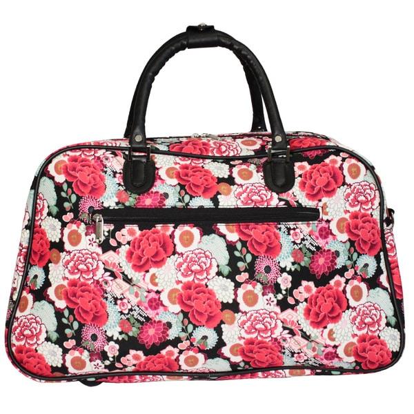 Flower 21 Carry-On Duffel Bag