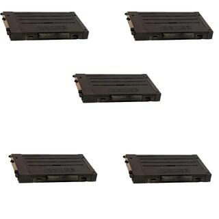 5PK Compatible CLP-500D7K Black Toner Cartridge For Samsung CLP-500 (Pack of 5)