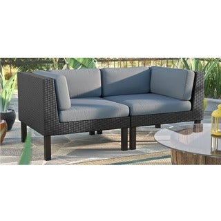 CorLiving Oakland 2-piece Loveseat Patio Set