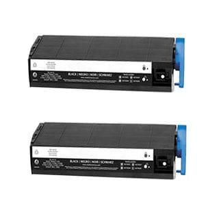 2PK Compatible 41963604 Black Toner Cartridge For OKI C9300 (Pack of 2)