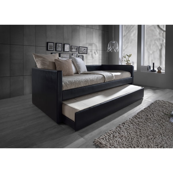 Shop Baxton Studio Risom Contemporary Black Twin Size