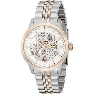 Fossil Men's ME3075 'Townsman' Automatic Two-Tone Stainless Steel Watch|https://ak1.ostkcdn.com/images/products/10609232/P17680685.jpg?impolicy=medium