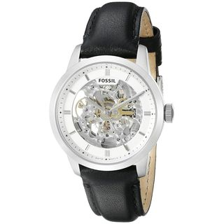 Fossil Men's ME3085 'Townsman' Automatic Black Leather Watch
