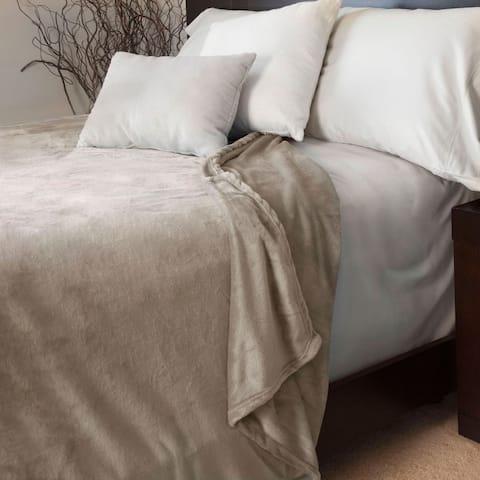 Windsor Home Super Soft Flannel Blanket (King)