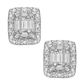 14K White Gold 1/3ct TDW Diamond Earrings|https://ak1.ostkcdn.com/images/products/10609302/P17680878.jpg?impolicy=medium