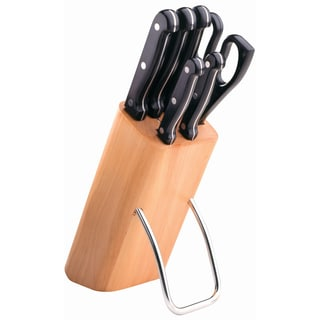 7-piece Riveted knife block