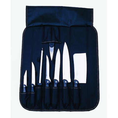 Knife Set 9-piece Folding Wrap