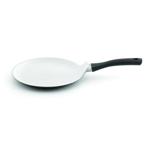 Eclipse Black and White 10-inch Pancake Pan