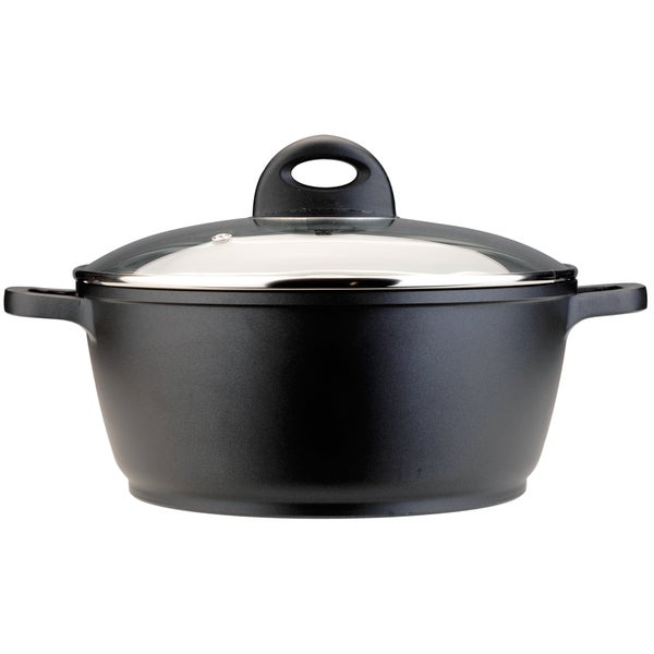 CooknCo 11-inch Cast Covered Stockpot