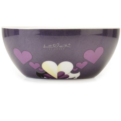 Lover by Lover Purple Cereal Bowl