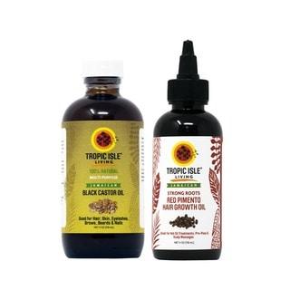 Tropic Isle Living Hair Growth Oil Set