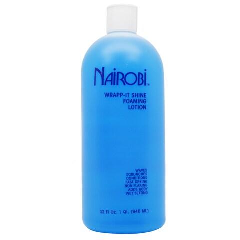 Nairobi Wrapp-It Shine 32-ounce Foaming Hair Lotion