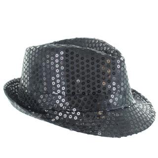 Faddism Children's Fashion Sequin Fedora Hat