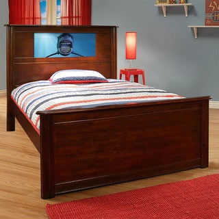 LightHeaded Beds Riviera Cheshire Cherry Full Bed by Lifetime