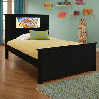 LightHeaded Beds Riviera Black Full Bed by Lifetime