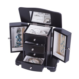 Mele Designs Kennedy Java Wooden Jewelry Box