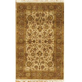 Hand-knotted Essex Wool Runner Rug (India)