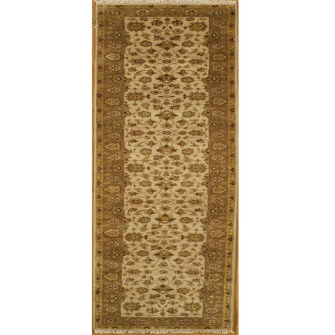 Handmade Essex Wool Runner Rug (India)
