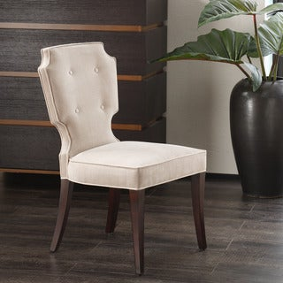 Madison Park Piper Sleek JLA Hanover Pearl Armless Dining Chair