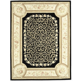 Chinese Florence Hand-tufted Silk and Wool Area Rug (7'9 x 9'9)