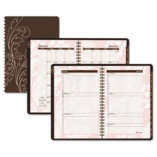 At-A-Glance Sorbet Brown/ Pink 2017 Monthly Planner