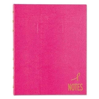 Blueline White Paper Bright Pink Cover NotePro Notebook