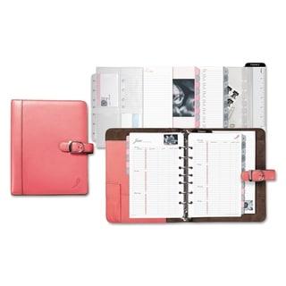 Day-Timer Pink Ribbon Pink/White Loose-Leaf Organizer Starter Set