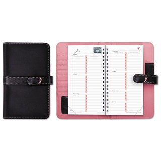 Day-Timer Pink Ribbon Pink/White Starter Set
