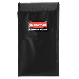 Rubbermaid Commercial Black 4 Bushel Collapsible X-Cart Replacement Bag