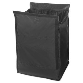 Rubbermaid Commercial Black Medium Executive Quick Cart Liners (Pack of 6)