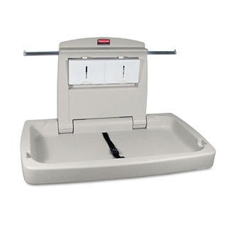 Rubbermaid Commercial Platinum Sturdy Station 2 Baby Changing Table