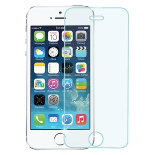 Insten Clear Tempered Glass LCD Phone Screen Protector Film Cover For Apple iPhone 5/ 5S