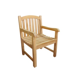 Handmade D-Art Teak Captain Arm Chair (Indonesia)