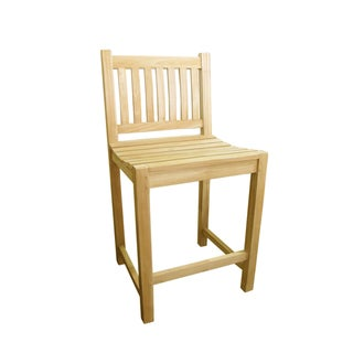 D-Art Teak Riverside Bar Stool (Indonesia)