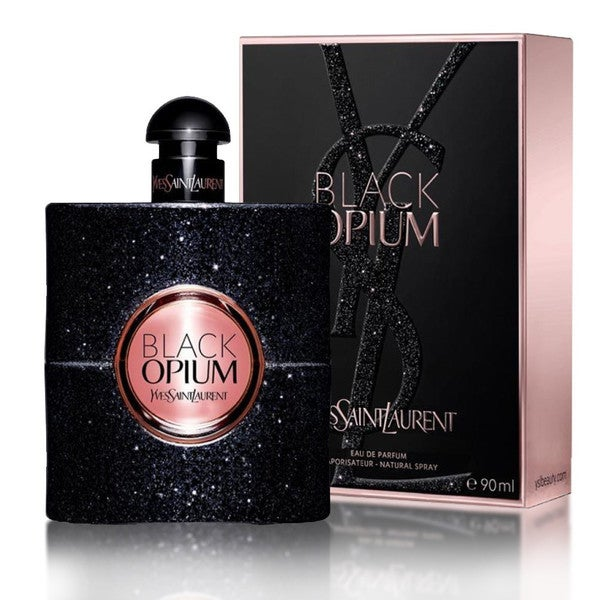 40b0bff9386 Shop Yves Saint Laurent Black Opium Women's 3-ounce Eau de Parfum Spray -  Free Shipping Today - Overstock - 10609819