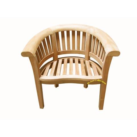 Handmade D-Art Teak Super Wide Manhattan Arm Chair (Indonesia)