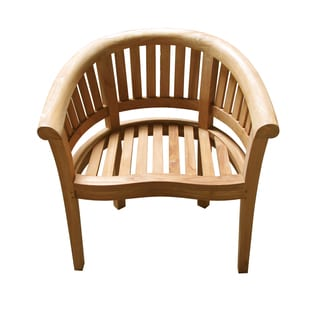 Handmade D-Art Teak Medium Wide California Arm Chair (Indonesia)