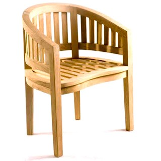 Handmade D-Art Teak Original Island Arm Chair (Indonesia)