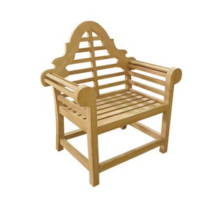 D-Art Teak Lutyen Arm Chair (Indonesia)
