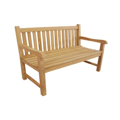 Handmade D-Art Teak Riverside Bench (Indonesia)