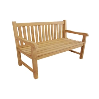 D-Art Teak Riverside 3-seater Bench (Indonesia)