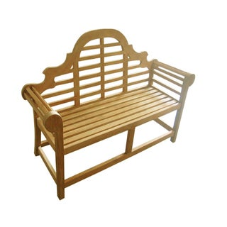 D-Art Teak Lutyen 2-seater Bench (Indonesia)