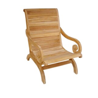 Handmade D-Art Teak Lazy Chair (Indonesia)