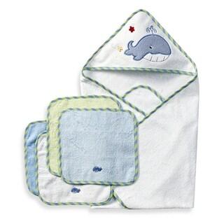 Spasilk Terry Neutral Bath Towel and Washcloth Set